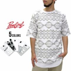 B ONE SOUL ビーワンソウル Tシャツ メンズ ビッグ Tシャツ ロング タンクトップ セット マルカワ 2点 セット レイヤード ストリート 総