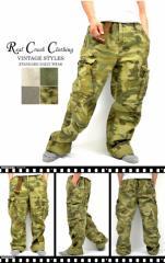 大きいサイズ!Real Crush Clothing リアルクラッシュコルシング 2L 3L 4L 5L ベルト付き! 6ポケットカーゴパンツ
