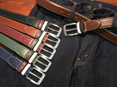 【HANG TEN】【ベルト】【ビジネス】ベルト メンズ レディース メンズファッション 通勤 通学 レザー バックル
