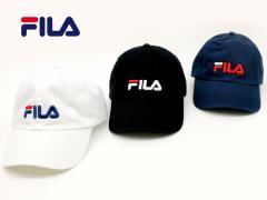 フィラ  帽子 FILA キャップ 6パネル キャップ 帽子 ツイル ロゴ 刺繍 キャップ CAP メンズ レディース キャップ 帽子 男女兼用 キャップ