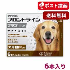 【A】【ポスト投函送料無料】フロントライン プラス 犬用 L 20-40kg用 6本入【動物用医薬品】