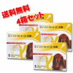 【B】【動物用医薬品】マイフリーガードα犬用 S 5-10kg用 3本入 4箱セット