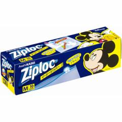 Ziploc イージージッパー M10枚入 ミッキーマウス 2018 【ディズニー】