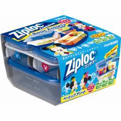 Ziploc コンテナー ベーショックアソート ミッキー&ミニー 2018 【ディズニー】