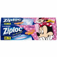 【C】Ziploc フリーザーバッグM16枚入 ミニーマウス 2019 【Ziploc(ジップロック)】 【ディズニー】
