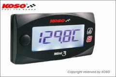 KN企画:KOSO Mini3デジタル(ヘッド温度計)/GROM・MSX125