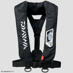 ダイワ フローティングベスト DF-2007 ウォッシャブルライフジャケット(肩掛けタイプ手動・自動膨脹式)  フリー  ブラッ
