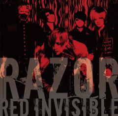 送料無料有/[CD]/RAZOR/RED INVISIBLE [CD+DVD]/DAKTRCL-137