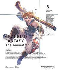 送料無料有/[DVD]/GRANBLUE FANTASY The Animation 5 [完全生産限定版]/アニメ/ANZB-11849