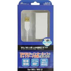 送料無料有/[グッズ]/アンサー Wii U/Wii用「LAN接続アダプタ」(ホワイト) ANS-WU007WH/NEOACS-48072