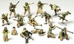 [グッズ]/1/48 ミリタリーミニチュアシリーズ No.13 WWII アメリカ歩兵 GIセット/NEOGDS-157369