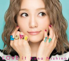 送料無料有/[CD]/西野カナ/LOVE it [DVD付初回限定盤]/SECL-2235