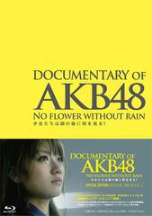 送料無料有/[Blu-ray]/DOCUMENTARY OF AKB48 NO FLOWER WITHOUT RAIN 少女たちは涙の後に何を見る? スペシャル・エディション [Blu-ray]/