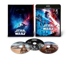 送料無料有/[Blu-ray]/スター・ウォーズ/スカイウォーカーの夜明け MovieNEX (初回版) [Blu-ray+DVD]/洋画/VWES-6995