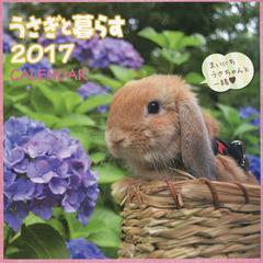 送料無料有/[書籍]/うさぎと暮らす カレンダー 2017/マガジンランド/NEOBK-2010815