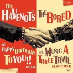 [CD]/THE HAVENOTS/THE BORED/SPLIT [CD+EP]/DAKSJR-10