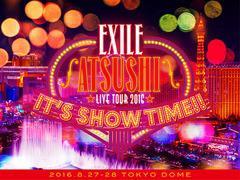 """送料無料有/[DVD]/EXILE ATSUSHI/EXILE ATSUSHI LIVE TOUR 2016 """"ITS SHOW TIME!!"""" [豪華版]/RZBD-86264"""