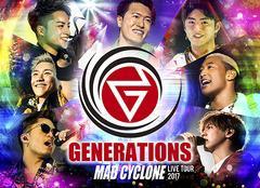 送料無料有/[DVD]/GENERATIONS from EXILE TRIBE/GENERATIONS LIVE TOUR 2017 MAD CYCLONE [初回生産限定]/RZBD-86516