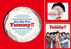 送料無料 初回 特典/[CD]/Kis-My-Ft2 (キスマイフットツー)/Yummy!! [3タイプ一括購入セット]/NEOIKT-1227