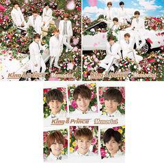 送料無料有 特典/[CD]/King & Prince/未定 (2ndシングル) [3タイプ一括購入セット]/NEOIKT-1264