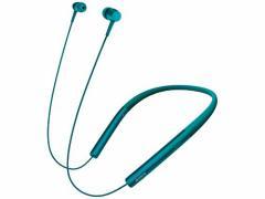 ソニー SONY ワイヤレスイヤホン h.ear in Wireless MDR-EX750BT : ハイレゾ/Bluetooth対応 リモコン・マイク付き ビリジアンブルー MDR-