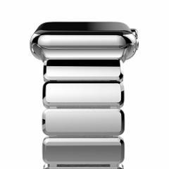 Oittm Apple Watch Series 3 バンド 42mm アップルウォッチ 交換バンド ステンレススチール アダプター付き ビジネス Apple Watch ベルト