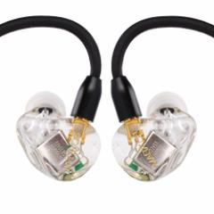 magaosi k5 イヤホン イヤモニ型イヤホン+Bluetoothケーブル ハイレゾ型 イヤホン・ヘッドホン 高音質 mmcx リケーブル イヤホン Yiny