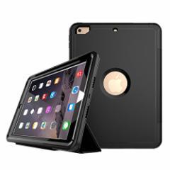 New iPad 9.7 2017 2018 ケース アイパッドケース 全面保護 耐衝撃 生活防水 防塵 PC+TPU二重構造