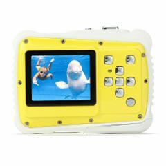 Pellor 子供用 デジタルカメラ 800万画素 トイカメラ 防水 ミニカメラ マイク内蔵スピーカー付き 子供用カメラ 子供プレゼント 日本語
