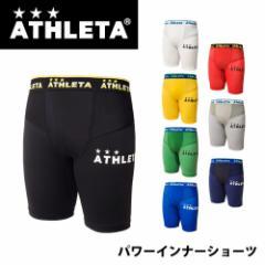 【メール便OK】ATHLETA(アスレタ) 18009 パワーインナーショーツ メンズ サッカーウェア フットサル スパッツ チ