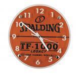 【新品/取寄品】ウォールクロック バスケットボール素材を使用した壁掛け時計 10-001WC