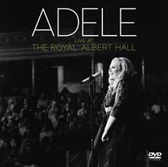 ☆【おまけ付】2017.04.07現地発売 LIVE AT THE ROYAL ALBERT HALL / ADELE アデル(輸入盤) 【DVD+CD】 0886919044690-JPT
