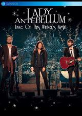 ☆【おまけ付】 LIVE:ON THIS WINTERS NIGHT / LADY ANTEBELLUM (輸入盤)【DVD】5036369820794-JPT