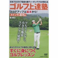【送料無料!最安値に挑戦中】ゴルフ上達塾 スコアアップは基本から スイングの基本編  (DVD) CCP-992