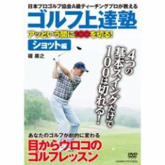 【送料無料!最安値に挑戦中】 ゴルフ上達塾 アッという間に100を切る ! ショット編 (DVD) CCP-936