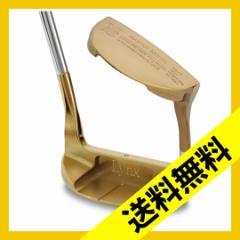 【送料無料】LYNX MASTER MODEL XI Premium Gold(プレミアムゴールド) パター /マレット型  (HY) HY-381882-LYX