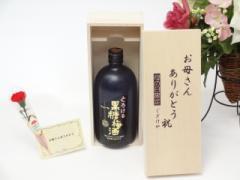 母の日 ギフトセット 梅酒セット お母さんありがとう木箱セット(チョーヤとろける黒糖梅酒720ml(大阪府)ギフト のし可