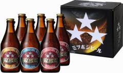 全国配送贈り物ギフト特集 ミツボシビール飲み比べ6本セット 330ml×6本  (9011)