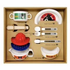 贈り物セット  ミキハウス DB テーブルウェアセットM