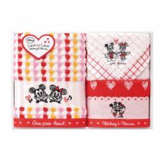 贈り物セット  ディズニー ミッキー&ミニー ラブラブタイム タオルセット DS-2420