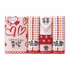 贈り物セット  ディズニー ミッキー&ミニー ラブラブタイム タオルセット DS-2450