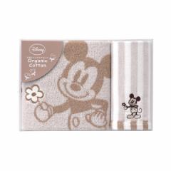 贈り物セット  ディズニー ミッキー ナチュラルガーデン タオルセット DS-2525