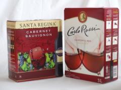 大容量飲み比べセット(サンタ・レジーナ カベルネ・ソーヴィニヨン 赤ワイン フルボディ3000ml カルロ ロッシ カリフォルニア レッド 赤
