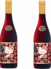2016年ボジョレー ハローキティー ボージョレ・ヴィラージュ・ヌーヴォー2016赤ワイン750ml×2本(ボジョレヌーボ)