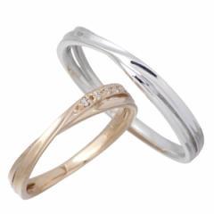 Lovers & Ring ラバーズリング ゴールド リング 指輪 ペアー 刻印無料 K10ゴールド ダイヤモンド LSR-0656-P 送料無料