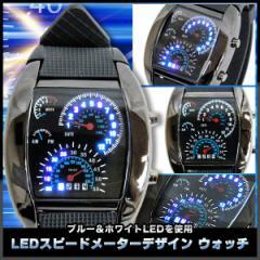 【送料無料】スピードメーター風 メンズ 腕時計 ...