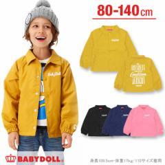 9/6NEW♪BDコーチジャケット-ベビーサイズ キッズ ブルゾン ベビードール 子供服-9800K