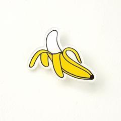 おいしそうなバナナのブローチ