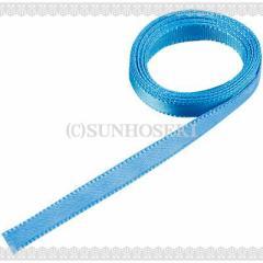 ブルー/細めヒモリボン1m