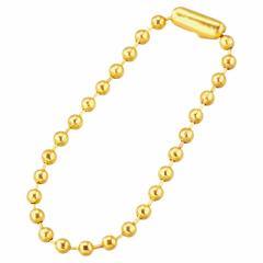 金色/10cmボールチェーン